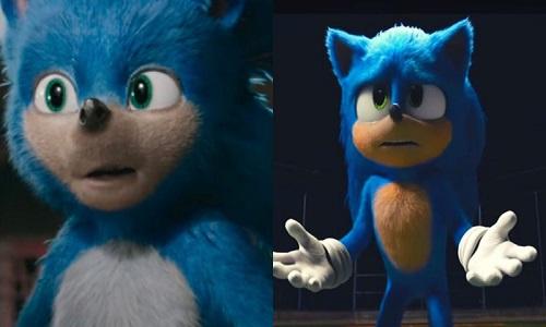 'Sonic' muda de visual após críticas.