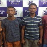 Homens são presos e adolescente apreendido após invadir casa e roubar R$ 14 mil.