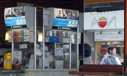 Projeto que proíbe exposição de cigarros em locais de venda é aprovado pelo Senado