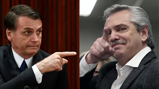 Cúpula do Mercosul será marcada pela tensão Bolsonaro-Fernández