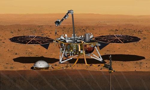 Sonda da NASA volta a cavar Marte em meio a descobertas de misteriosos tremores
