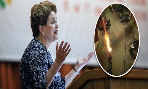 Dilma: PMs não podem virar guardas pretorianas de governantes fascistas.