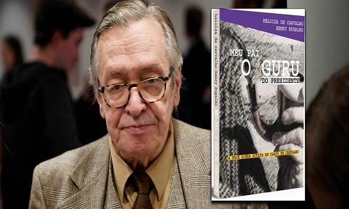Filha lança livro sobre Olavo de Carvalho