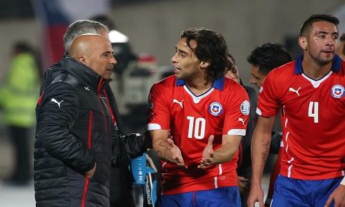 Valdivia aprova Jorge Sampaoli no Palmeiras