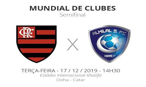 Flamengo joga hoje no mundial de clubes contra o Al Hilal