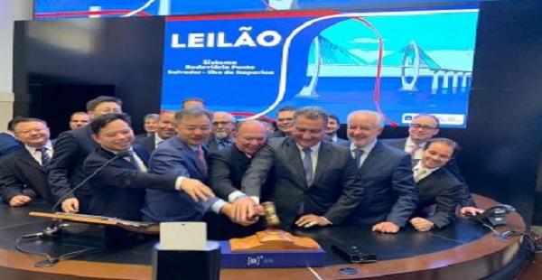 Ponte Salvador – Ilha de Itaparica será construída por chineses