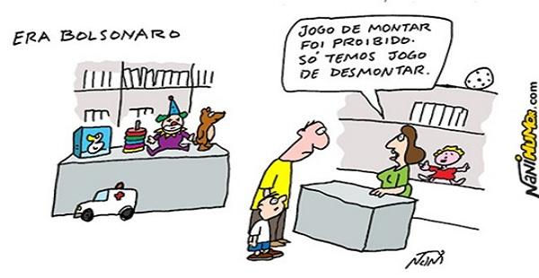 Miopia política do Bolsonaro promove o desmonte do Estado Brasileiro/ Por Sérgio Jones*
