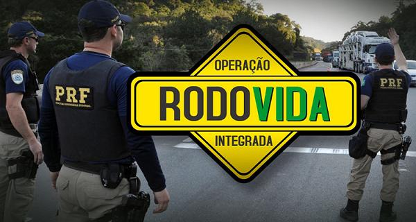 PRF amplia policiamento para passagem de ano com Operação Rodovida