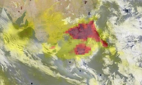Fumaça dos incêndios da Austrália já deu uma volta completa ao redor da Terra, informa NASA