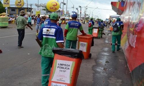 Mais de 156 mil quilos de lixo foram recolhidos em 2019.