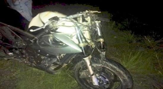 Mecânico morre após colidir sua moto com carro na BR-116 norte
