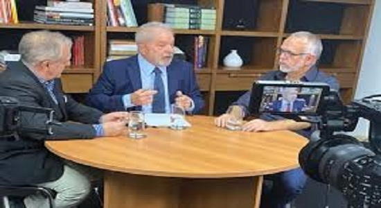 Lula: Brasil tem que agir como construtor da paz, não se meter em confusão