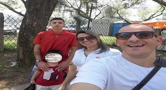 A segunda morte da família Zanetti, executada a tiros de pistola 9mm