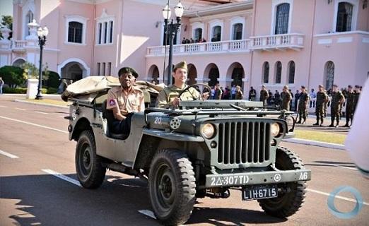 Falta um cabo, um soldado e um Jeep