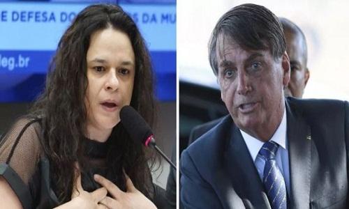 """Essa mulher vai pedir meu impeachment"", disse Bolsonaro sobre Janaína Paschoal"