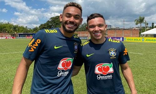Artilheiros do Brasil no Pré-Olímpico, Matheus Cunha e Pepê dividiram sala (e colas) na escola