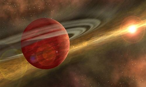 Astrônomos encontram planeta 'bebê' mais próximo da Terra