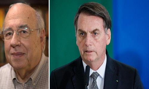 Veríssimo: 'Brasil está sendo convertido em nação de patifes pelo clã Bolsonaro'.