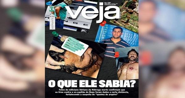 Jornalistas da VEJA que investigam morte de Adriano da Nóbrega são presos