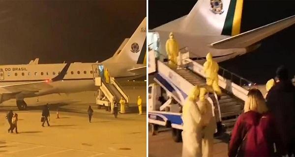 Brasil nega carona a sul-americanos em voo vindo de Wuhan, mas traz poloneses