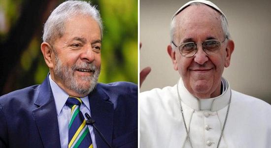 Lula será recebido pelo Papa Francisco na próxima semana