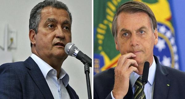 Bolsonaro ataca Rui Costa e cobra os nomes dos mandantes das mortes de Marielle e Adriano