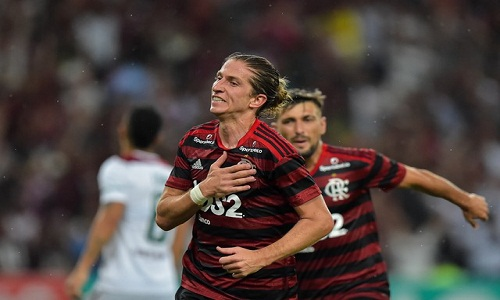 """Filipe Luís alerta o Flamengo: """"Quando tira o pé do acelerador, sente"""""""