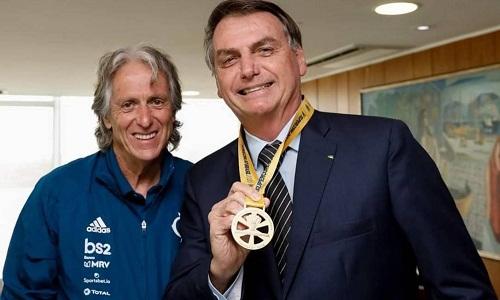 Técnico do Flamengo, vai a encontro com Bolsonaro em Brasília