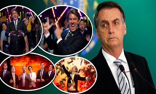 Adnet destrói Bolsonaro e a estupidez bolsonarista