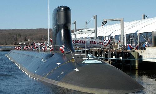 Almirante russo comenta emersão de submarino dos EUA através do gelo