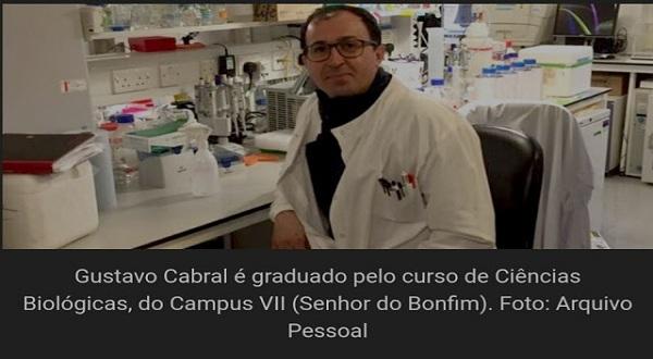 Formado na  UNEB lidera projeto de pesquisa para  vacina contra o coronavírus