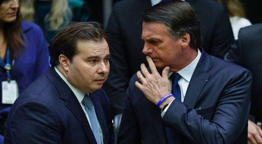 Maia diz que Bolsonaro deve ter cuidado com o que posta