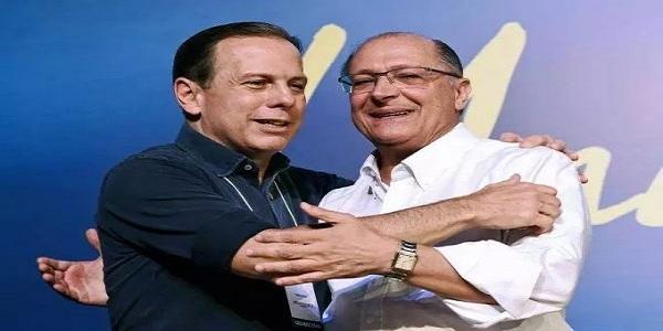Doria e Alckmin